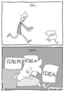 chasing ideas